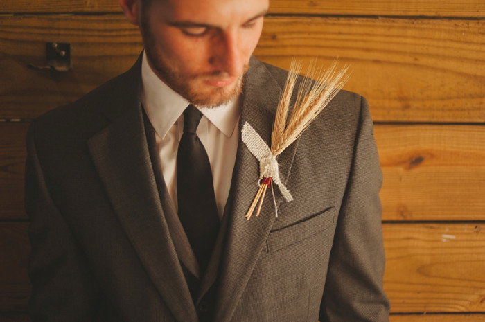 Event Design Barrington Hills Wedding Unique Groom Boutonniere