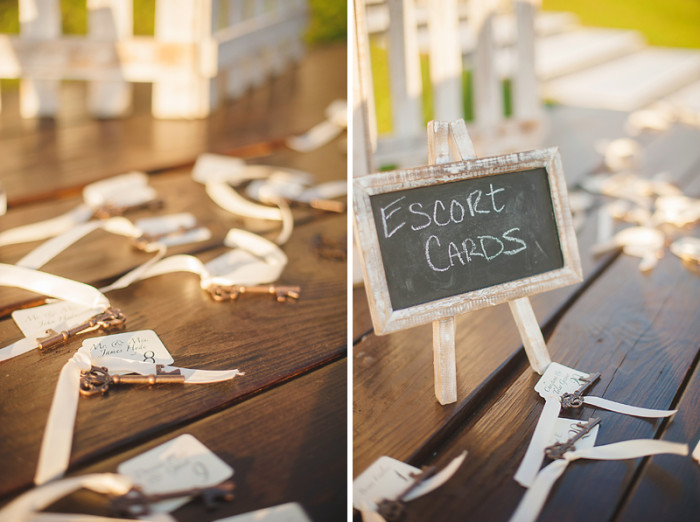 Event Design Barrington Hills Wedding Rustic Wedding Escort Cards