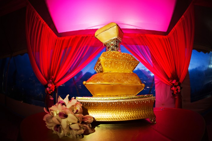 Event Design, Ringling Ca D'Zan, Indian Wedding, Cake