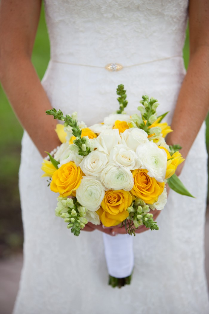 Event Design Kenzie Shores Vinoy Wedding Yellow and White 2a1
