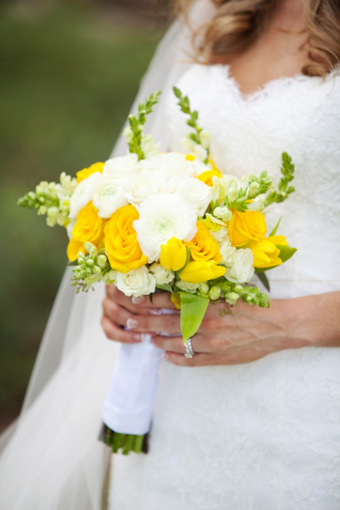 Event Design Kenzie Shores Vinoy Wedding Yellow and White 7