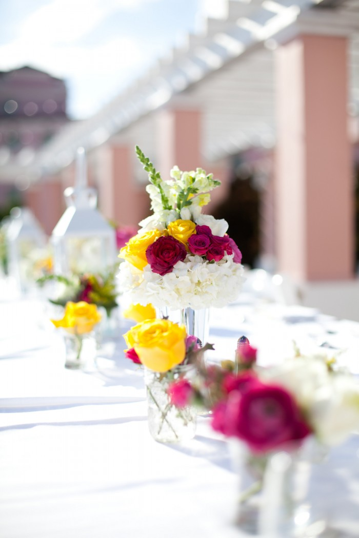 Event Design Kenzie Shores Vinoy Wedding Yellow and White 9