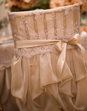 Event Design Lace Sash and Bow