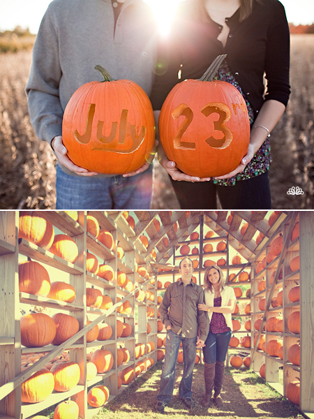 fall-wedding-pumpkin-patch-engagement-photos