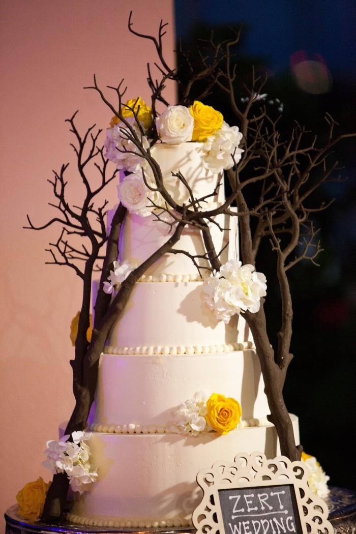 Event Design Kenzie Shores Vinoy Wedding Yellow and White 13