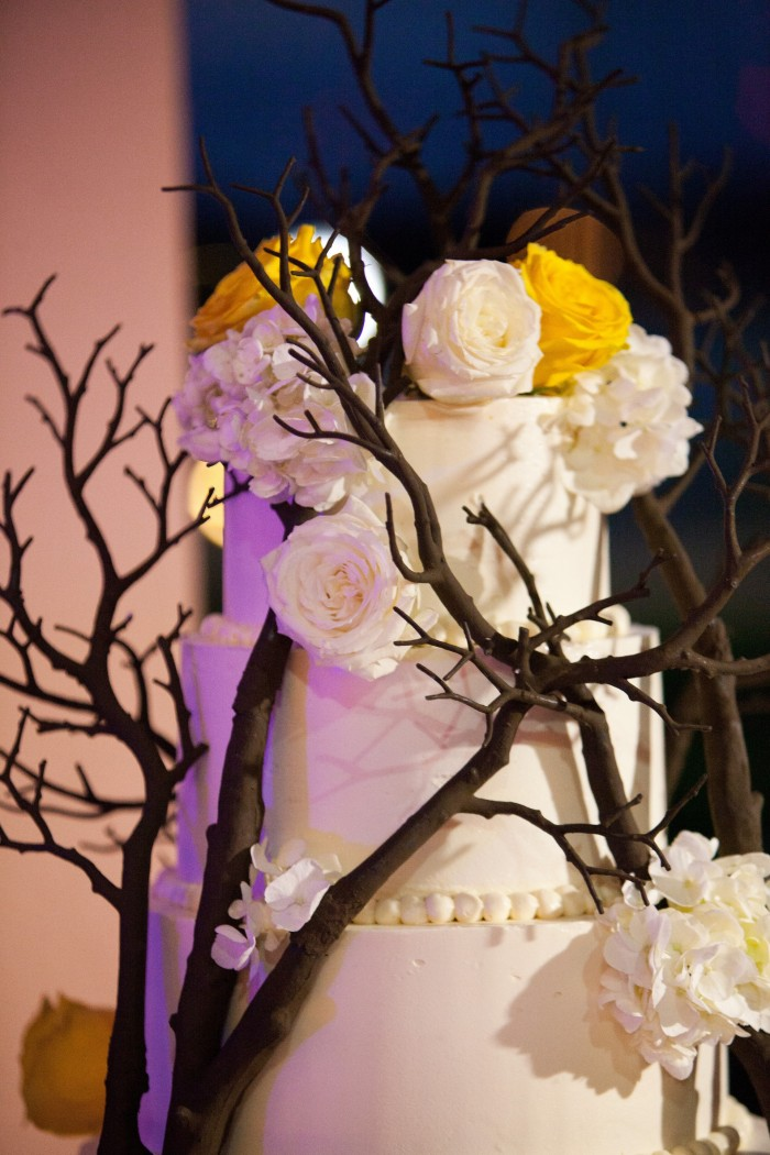 Event Design Kenzie Shores Vinoy Wedding Yellow and White 14
