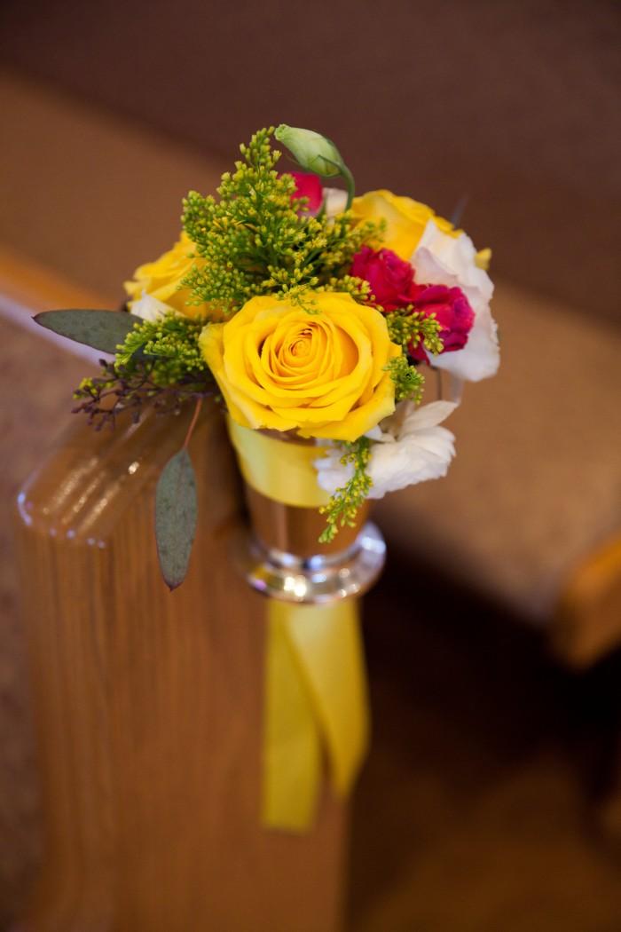 Event Design Kenzie Shores Vinoy Wedding Yellow and White 2