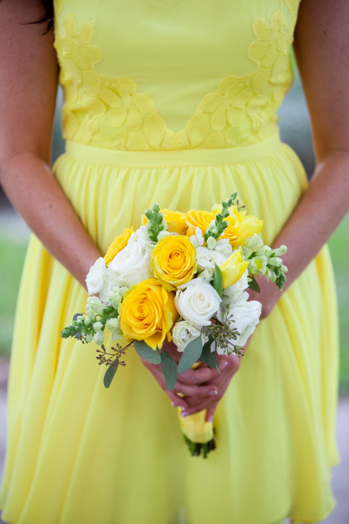 Event Design Kenzie Shores Vinoy Wedding Yellow and White 2a3