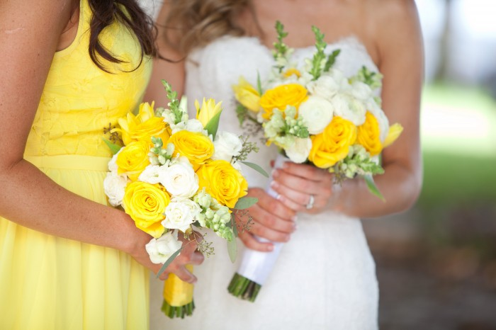 Event Design Kenzie Shores Vinoy Wedding Yellow and White 2a4