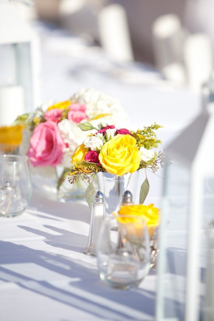 Event Design Kenzie Shores Vinoy Wedding Yellow and White 8