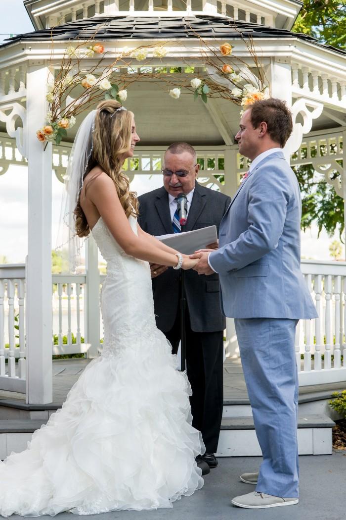 Event Design Ashfall Mixed Media Davis Island Garden Club Wedding