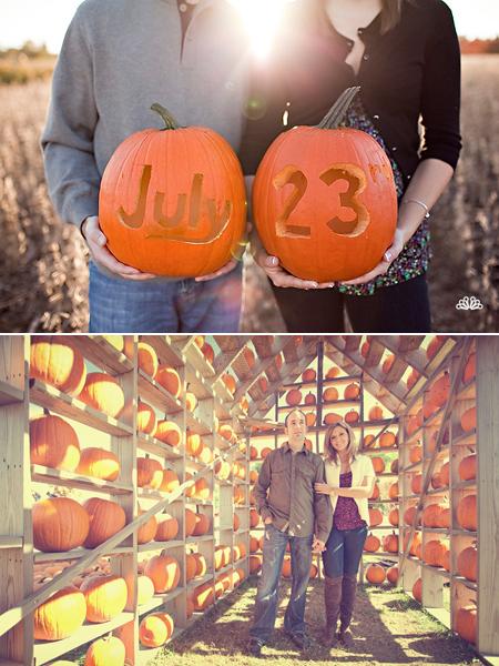 fall-wedding-pumpkin-patch-engagement-photos